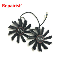 POWER LOGIC 95mm 12V 0 4A 4Pin PLD10010S12HH Graphics Card Dual Fan Replacement For MSI GTX