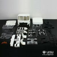 Lesu HINO700 ABS Пластик Actros тела 1/14 TAMIYA Радиоуправляемый трактор грузовик DIY модель