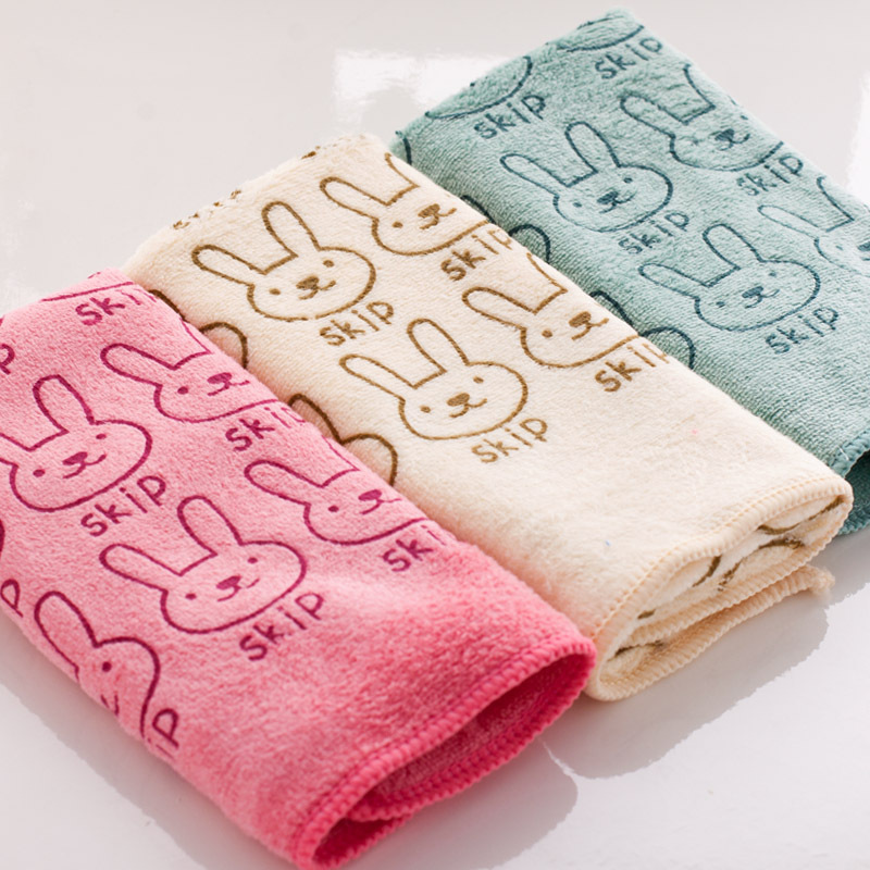 30x60cm Superfine fiber child towel Water absorption Hand Towel wholesale Home Cleaning Face for baby for Kids High Quality