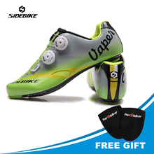 SIDEBIKE Riding Cycling Shoes Road Carbon Sapatilha Clismo patillas Breathable chaussures carbone Bicycle Shoes Sneakers
