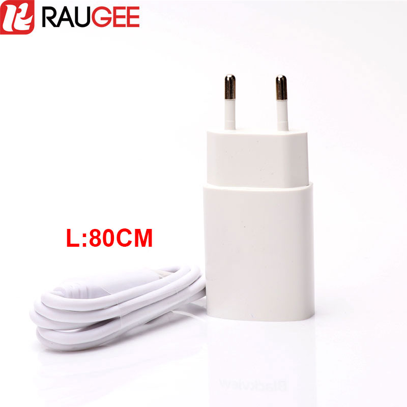 For Blackview BV6000 Micro USB Cable High Quality 100% New EU USB Charger Adapter + 80CM USB Wire For Blackview BV6000S