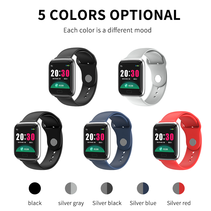 Image 5 - FUWUDIYI CY05 Men Smart Watch Women Fitness Tracker Android Smartwatches Blood Pressure Sports IP67 Waterproof Smart Watch Men-in Smart Watches from Consumer Electronics