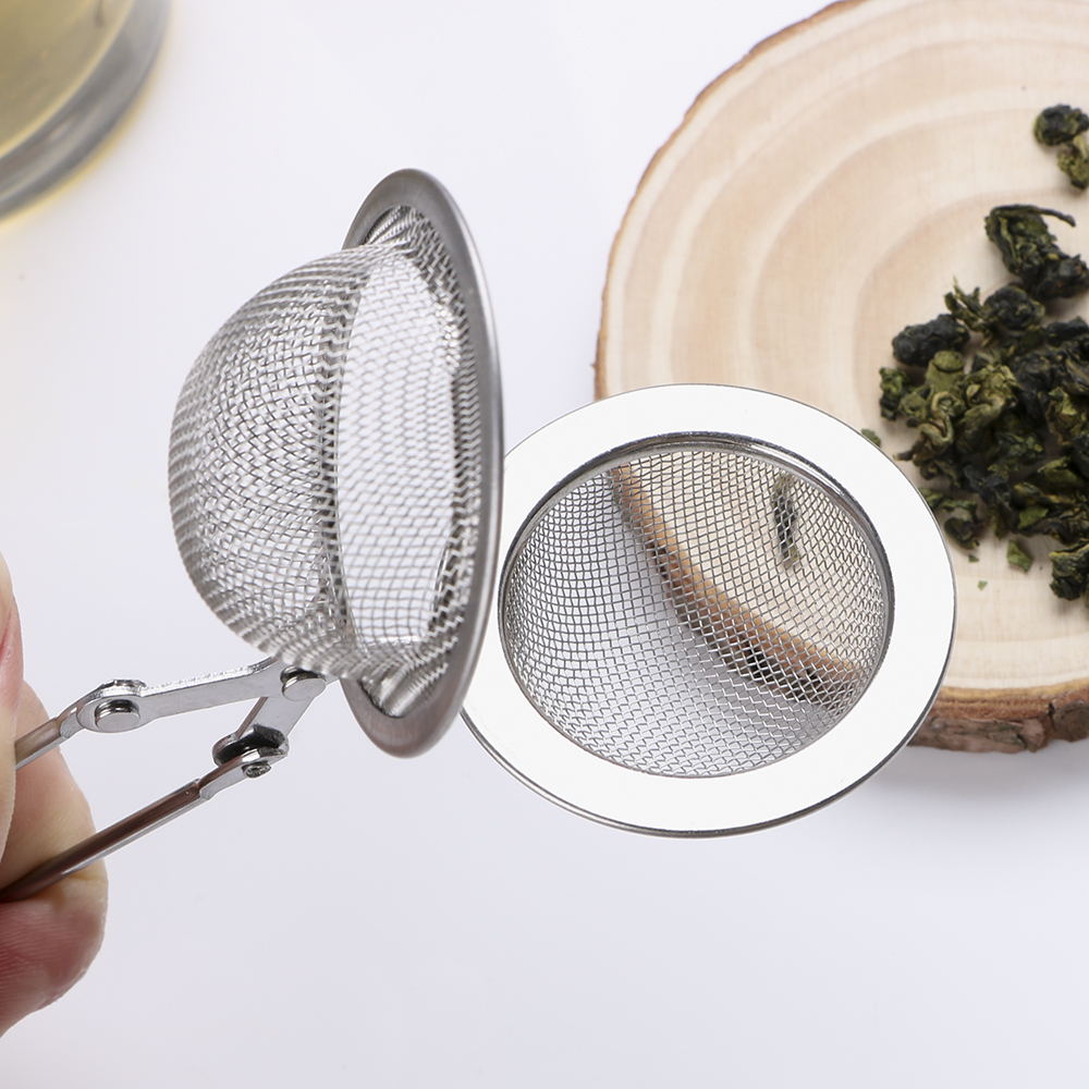 HILIFE Stainless Steel Tea Infuser Sphere Mesh Tea Strainer Coffee Herb Spice Filter Diffuser Handle Tea Ball 11