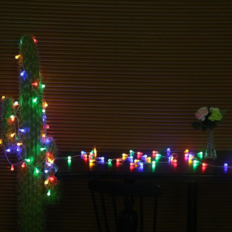 Dcloud Novelty Outdoor lighting 5m 50 <font><b>LED</b></font> Ball string <font><b>lamps</b></font> Christmas Lights fairy wedding garden pendant garland