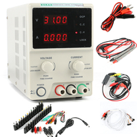 KD3005D DC Encoder Adjustable CNC Power Supply 30V 5A Constant Voltage Constant Current Source mA Display 10mV/1mA Accuracy