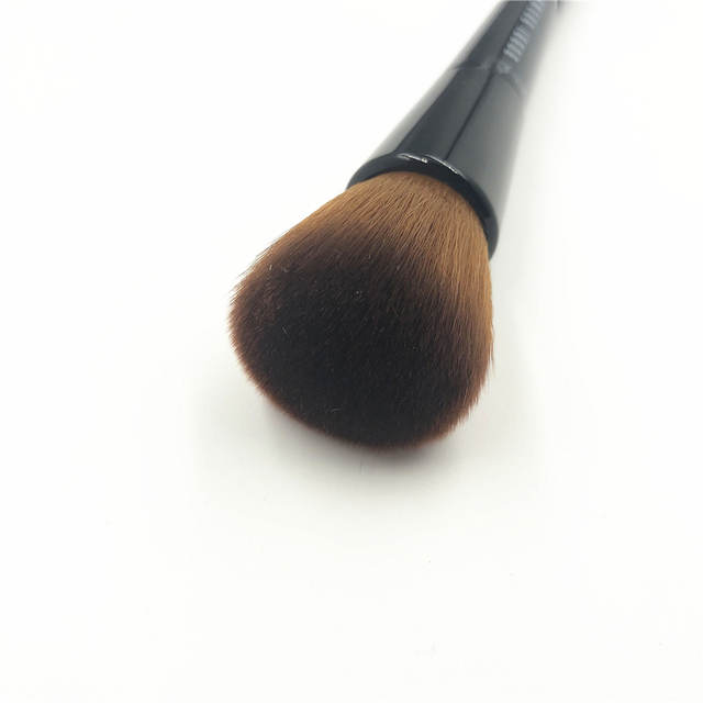 Professional BB Full Coverage Face & Touch Up Makeup Brush Double ended Contour Sculpting Brush Blending Make up Brush 2
