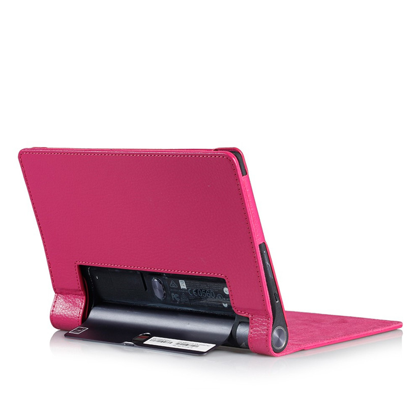 Factory Price Binmer Hot Selling Leather Case Stand Cover for 10.1 Lenovo Yoga Tab 3 10 X50L X50F Tablet Drop Shipping