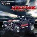 Free shipping Decool 3341 Transport Cruiser SUV 589pcs Racing Car Model Building Block Sets Educational DIY Bricks Toys 8081