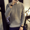 Sweater Men 2016 Pullovers Casual Sweater Male O-Neck Multi-Color Slim Fit Knitting Mens Sweaters Man Pullover Men Size 5XL