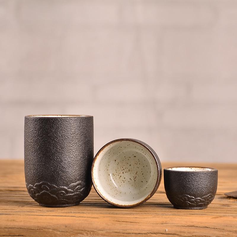 Portable Chinese Ceramic Travel Teacups 1