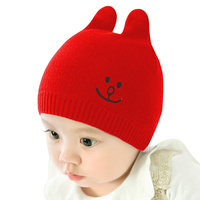 Solid Baby Beanie Hat Cotton Crochet Baby Hat Spring Autumn Beanie Baby Boy Embroidery Girl Hat