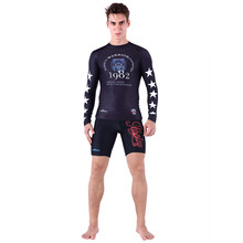 Man spandex rash wetsuit compression tights wears quick dry body suit Surfing Shirt Sunscreen Surf Rash Guard Men NY016