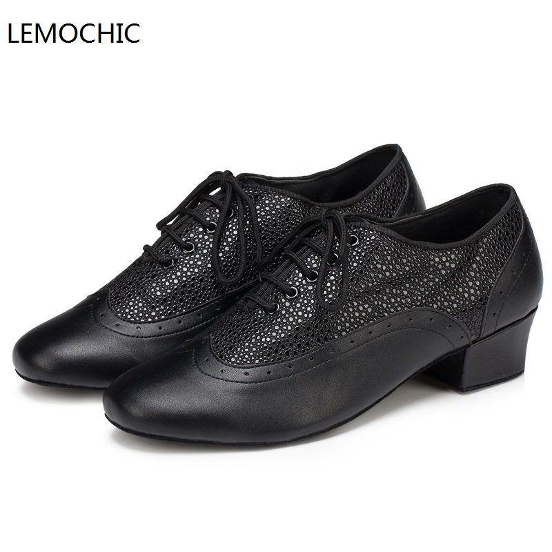 LEMOCHIC new salsa jazz samba tango rumba dancing ballroom cha cha women latin pointe low heel belly step dance shoes on sale satin with rhinestone dancing shoes for women ladies square heel ballroom dance shoes luxurious salsa shoes free shipping 6394