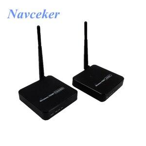 Image 5 - 330ft sans fil HDMI 1.3 Transmission vidéo sans fil HDMI expéditeur WIFI Extender 100m avec 20 ~ 60 KHz IR (émetteur + récepteur)