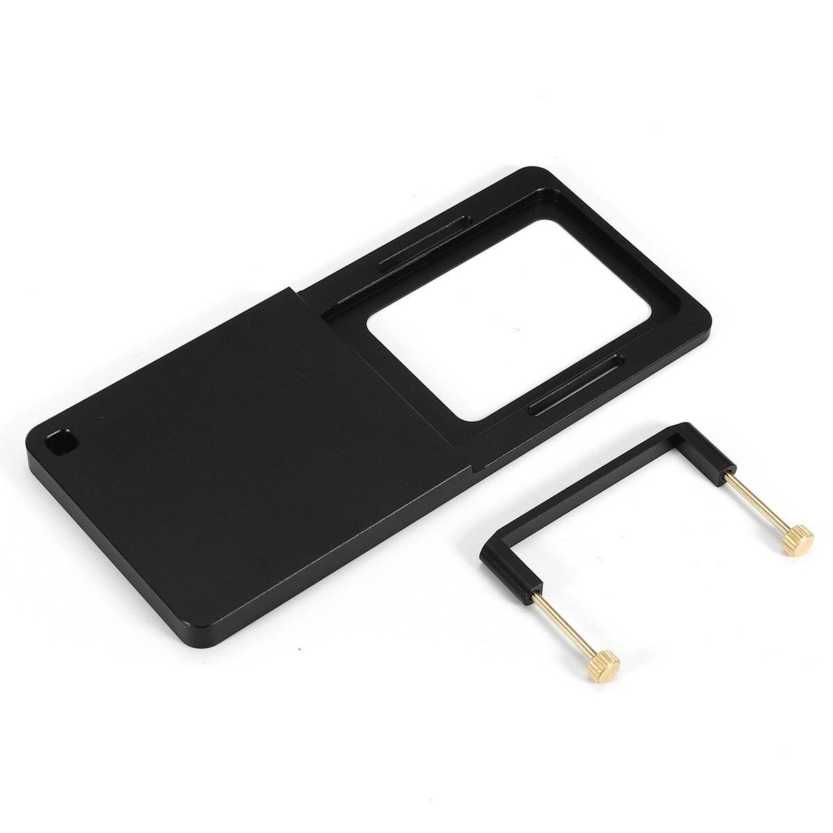Kompatibel Schalter Montieren Platte adapter Für Gopro 6 5 4 3 3 + Xiaoyi 4 karat dji Osmo Mobile Für zhiyun Z1 Glatte C R 2 II Gimbal