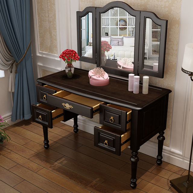 Beautiful Solid Wood Dresser, Dressing Table, Makeup Stool