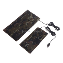 Pet USB Тепловой коврик рептилия углеродного волокна теплая постоянная температура Водонепроницаемый Кровать Nov18 и Прямая поставка