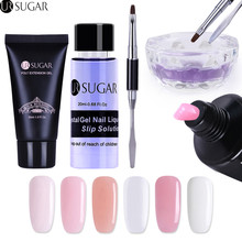 UR SUGAR 30ml Quick Building Nail Extension Gel Acrylic Poly UV Clear White Builder Tips Varnish Slip Solution