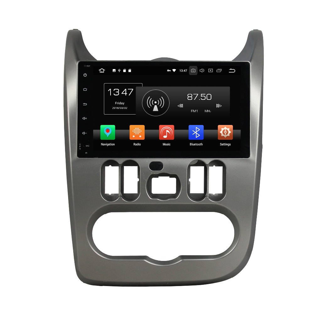 OTOJETA Android 8 0 car DVD octa Core 4GB RAM 32GB rom multimedia player for renault
