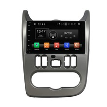 Otojeta DVD del coche del androide 8.0 octa Core 4 GB RAM 32 GB ROM reproductor multimedia para Renault Logan sandero plumero 2015-2016 unidades principales
