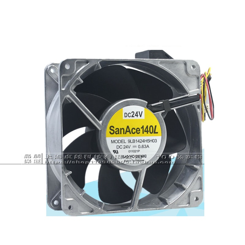 все цены на  New Original 9LB1424H5H03 DC24V 0.63A 140 * 50MM With Inverter Fan Fan  онлайн