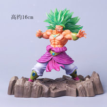 Brolly ZXZ 16 cm Anime Dragon Ball Z Super Saiyan Son Gohan Dragonball Figuras de Ação Master Figurine Collectible Toy Modelo(China)