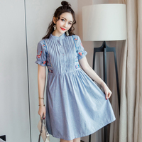 JMFFY Maternity Nursing Dress With High Quality Pregnancy Dress for Pregnant Women Maternity Clothes 2018 Summer Dresses Outwear