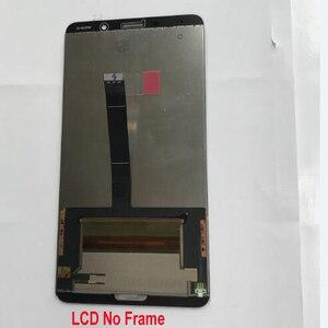 Image 3 - 100% Orijinal Test Çalışma Huawei Mate 10 Için ALP L09 ALP L29 lcd ekran dokunmatik ekranlı sayısallaştırıcı grup Sensörü + Çerçeve