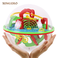 Kids 3D Puzzle Ball Logic Training Learning Educational Toys Children Early Educational Training Tools Magic Intellect