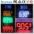 """Leeman 10 дюймов 12 """" на открытом воздухе и водонепроницаемый 4 цифровой 8.889 стиль газ станция различных цвет на открытом воздухе из светодиодов газ цифровой дисплей"""