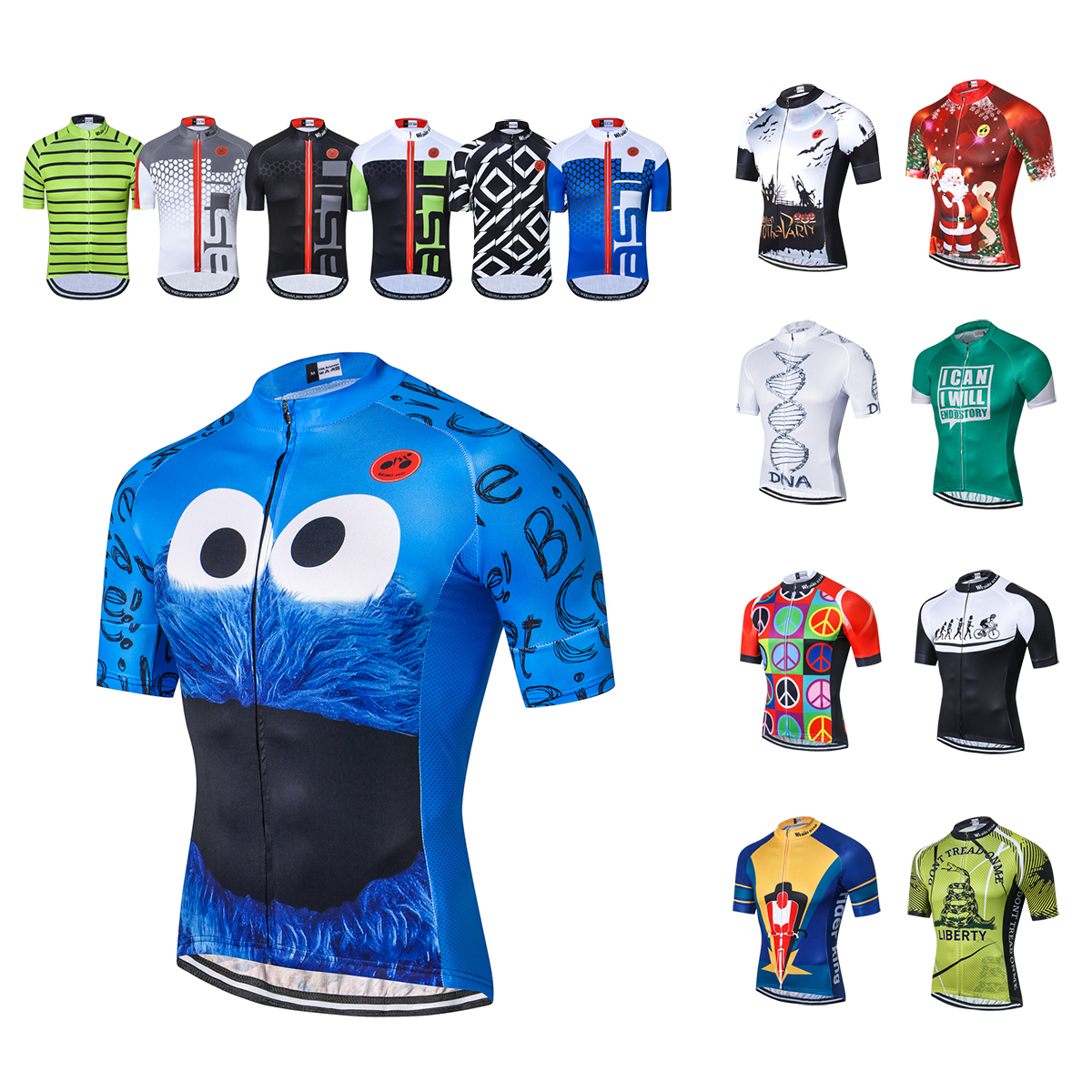 2019 Cycling Jersey Men Summer Short Sleeve Pro Mtb Team Mountain Bike Jersey Ropa Ciclsimo Maillot Bicycle Clothing Shirts Top image