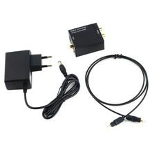 Цифро-аналоговый аудио конвертер адаптер цифровой Adaptador оптический коаксиальный RCA Toslink сигнал аналогового аудио конвертер RCA Новый