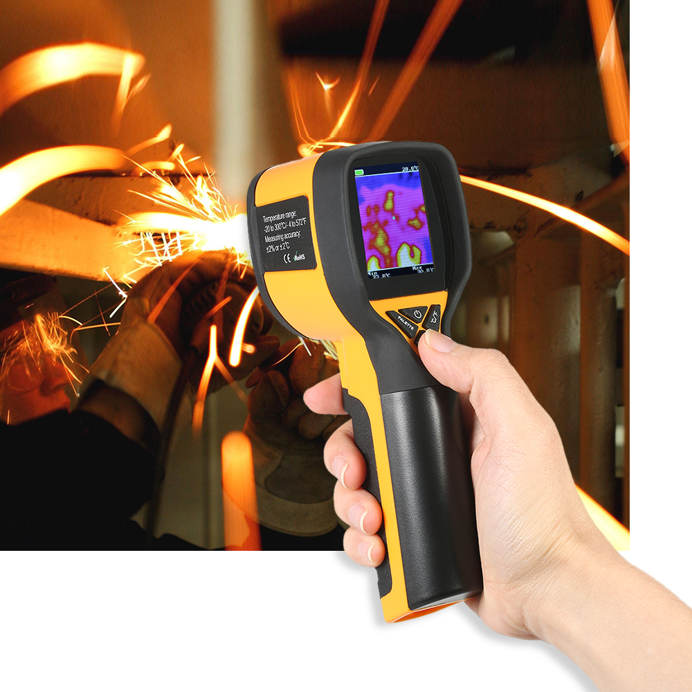 -20~300C Professional Mini LCD Digital Handheld Thermal Imaging Camera Infrared Thermometer reiner salzer infrared and raman spectroscopic imaging