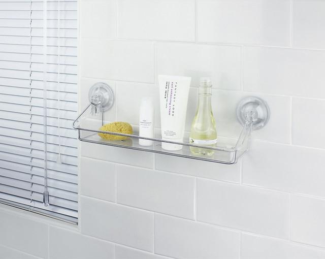 Space Acrylic Bathroom Shelf Shower Shampoo Soap Cosmetic Shelves