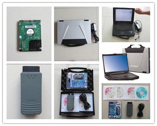 Vas5054a полный чип Поддержка UDS OKI Bluetooth ODIS 4.2.3 с ноутбуком Toughbook cf-52 полный комплект готов к использованию 2018 диагностический