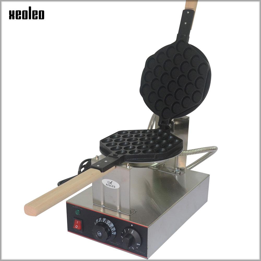 XEOLEO Egg puff maker Hongkong QQ Eggettes maker Puff Waffle maker 110V/220V Egg Bubble Muffin Machine Bubble waffle machine stainless steel eggettes waffle maker 1400w electric waffle machine 220v 50 60hz hk qq egg maker