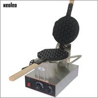 XEOLEO Egg puff maker Hongkong QQ Eggettes maker Puff Waffle maker 110V/220V Egg Bubble Muffin Machine Bubble waffle machine