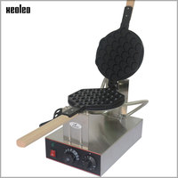 XEOLEO Egg puff maker Hongkong QQ Eggettes maker Puff Waffle maker 110V/220V Egg Bubble Muffin Machine Bubble waffle machine