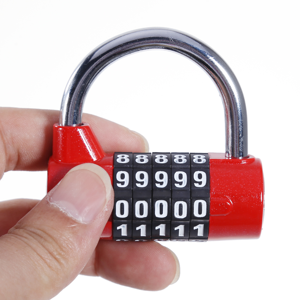 Combination Lock, Security Padlock for Home School Office Warehouse Fence  Gym Lockers Cabinets Drawers Toolboxes Storage Lockers