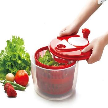 Fruits Vegetables Dehydrator Dryer Colander Basket Fruit Wash Clean Basket Storage Washer Drying Machine Cleaner Salad