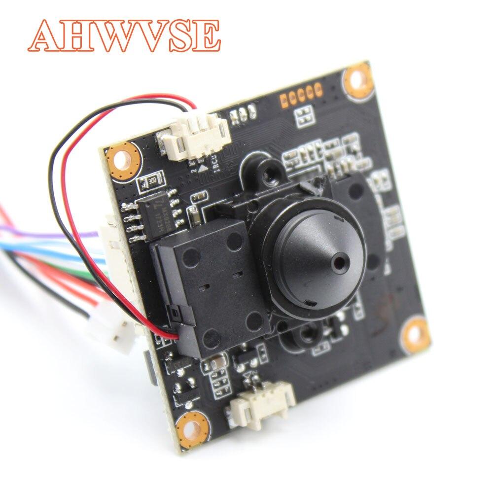 AHWVE Mini bricolage IP module de caméra Conseil avec IRCUT 1080 P 2MP ONVIF H264 Mobile Serveillance XMEYE 3.7mm Lentille ONVIF