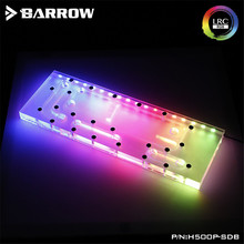 Barrow Waterway Board for Cooler Master H500P Case Water Way Plate LRC2.0(5V 3Pin) Motherboard AURA H500P-SDB