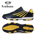 TIEBAO Professional Soccer Shoes TF Turf Rubber Soles Athletic Training Sneakers Men Football Boots Size 38-44 Chuteiras Futbol