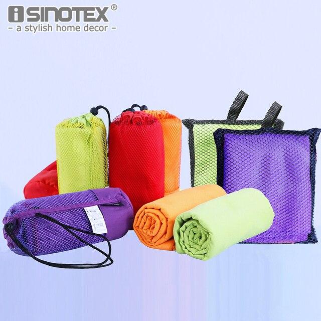 40x75 cm Sport Asciugamano In Microfibra Viaggi Jogger Panno Con Il Sacchetto to
