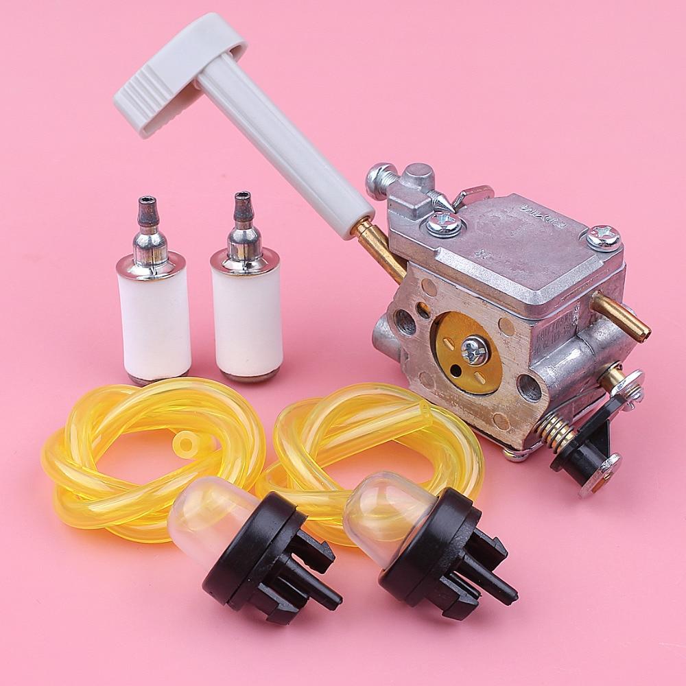 home improvement : Carburetor Carb Fuel Filter Line Hose Primer Bulb For Ryobi RY08420 RY08420A Backpack Blower Replacement Spare Part