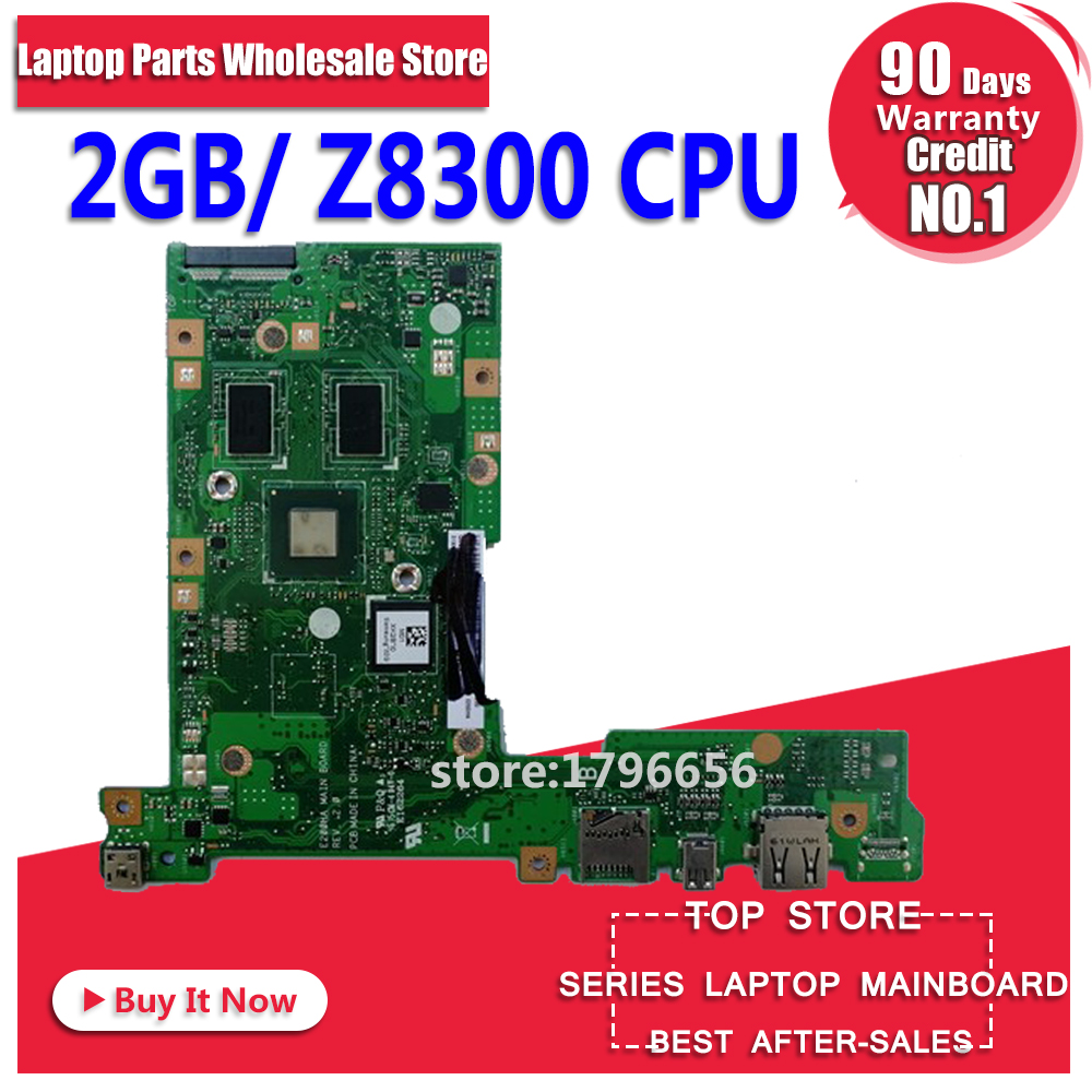 цена E200HA Motherboard Z8350 CPU 32G SSD 2G RAM For ASUS E200HA E200H laptop Motherboard E200HA Mainboard E200HA Motherboard test ok