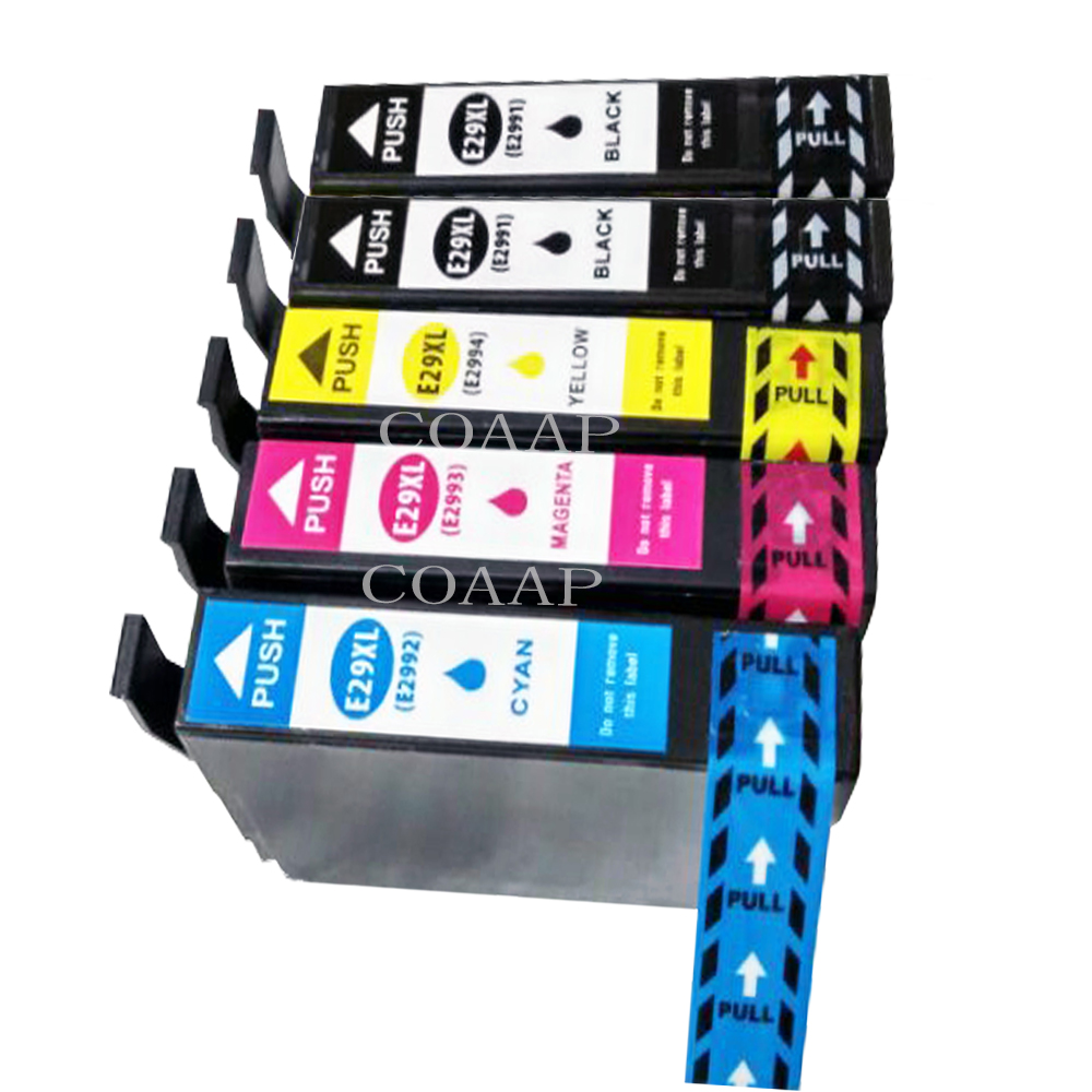 5 Compatible 29XL Ink Cartridge For <font><b>EPSON</b></font> XP235 XP332 XP335 XP432 XP435 XP442 XP332 XP342 <font><b>XP345</b></font> Printer image