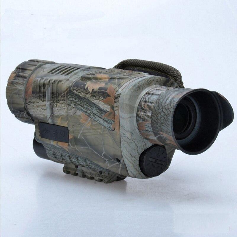 5X40 Digital Night Vision Monocular Infrared Telescope High-power Full Dark HD Hunting Camera Video Recording Camouflage