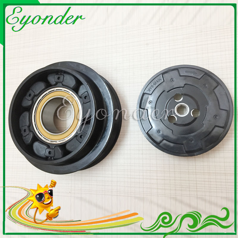 Auto A/C AC Air Conditioning Compressor Clutch Pulley for Mercedes Mercedes-Benz S-CLASS C216 CL63 CL500 447150-3540 A0022307711