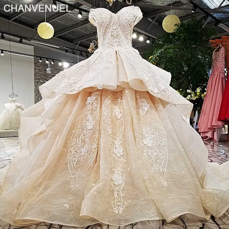 0501a21f0d3d Detail Feedback Questions about LS321003 2018 champagne off shoulder ...